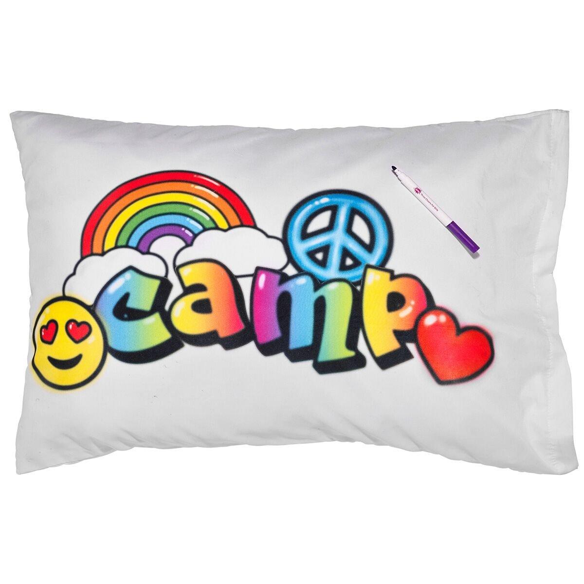 3C4G Air Brush Camp Autograph Pillowcase