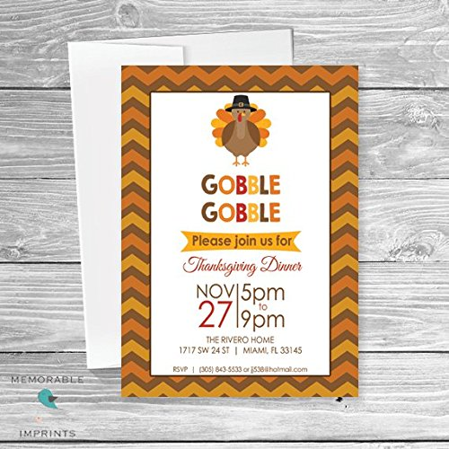 AmazonCom Thanksgiving Dinner Invitation  Thanksgiving