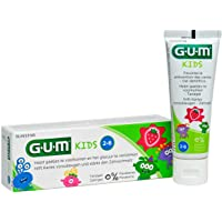 GUM Kinder Zahngel, 50 ml Doppelpack (2x 50ml) für die perfekte Kinderzahnpflege