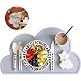 Baby Placemat, Silicone Mat - Placemat for Kids Silicone Waterproof Baby Placemat Meat Meal Mat Table Mat Cute Portable…