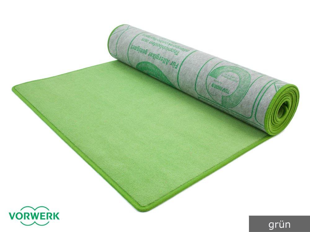 Bijou grün Vorwerk Bettumrandung 3 Teile 2x70x140 cm 1x70x340 cm