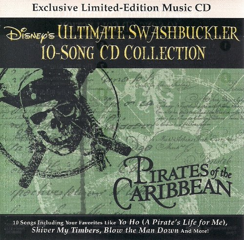 Pirates of the Caribbean - Disney's Ultimate Swashbuckler 10 Song CD - Collection Swashbuckler