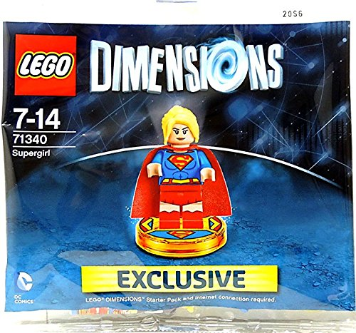 LEGO Dimensions - Supergirl Exclusive Polybag by WB Games - LEGO