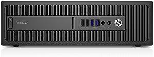 HP Business Desktop Prodesk 600 G2 Desktop Computer - Intel Core I7 (6th Gen) I7-6700 3.40 Ghz - Sm (Renewed)