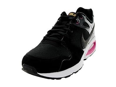 ... Nike Women's Air Max Coliseum RCR Black/Black/Wd Pink/Mtllc Gld Running