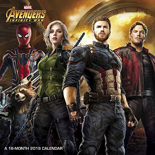 Book cover from Avengers: Infinity War Mini Wall Calendar (2019) by Day Dream