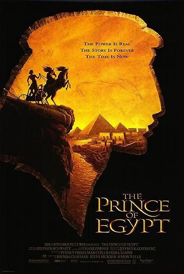 Bildergebnis für the prince of egypt film poster