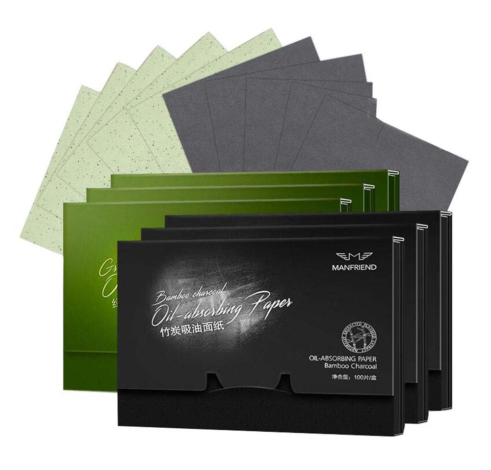 Facial Oil-absorbing Blotting Papers Absorbent Paper, 600 sheets, C