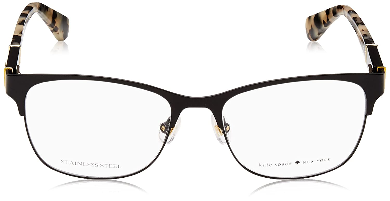 3172f3ca52 Eyeglasses Kate Spade Benedetta 0003 Matte Black at Amazon Men s Clothing  store
