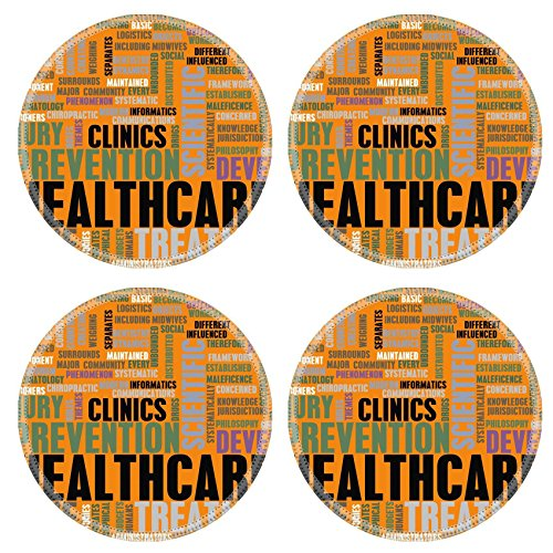 MSD Round Coasters IMAGE ID Healthcare in the Medical Industry as Concept
