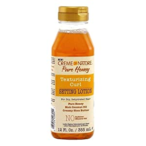 Creme Of Nature Pure Honey Setting Lotion 12 Ounce (355ml)