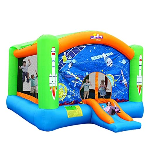 FLY FLU Castillo Hinchable Grande,Castillo Inflable para ...