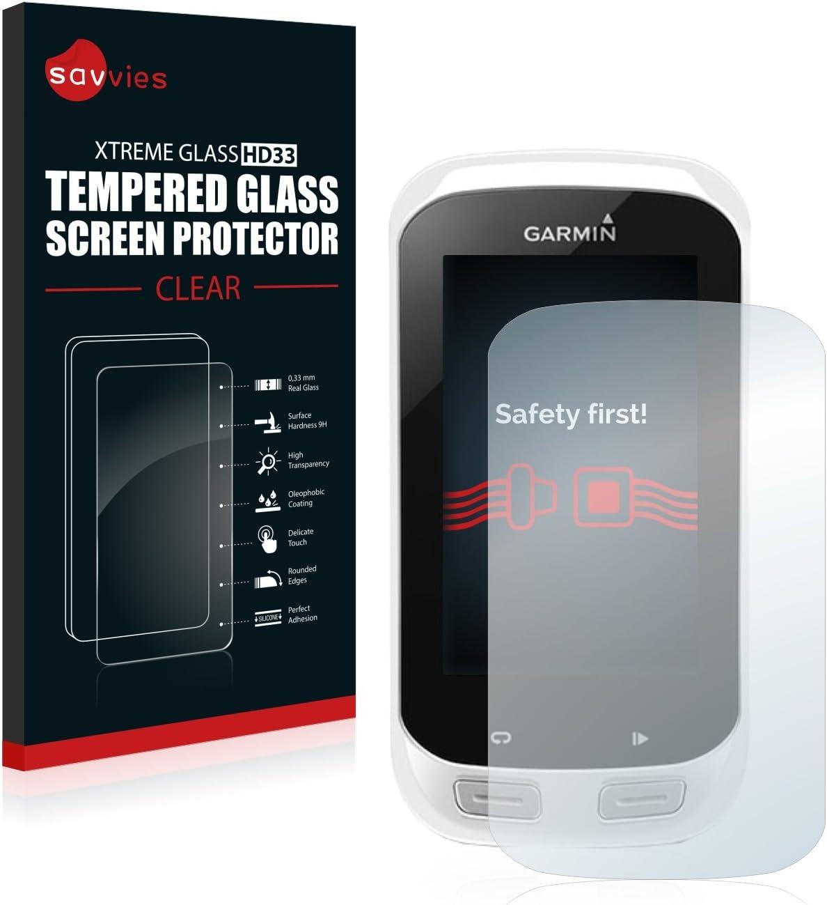 savvies Cristal Templado Compatible con Garmin Explore 1000 Protector Pantalla Vidrio Proteccion 9H Pelicula Anti-Huellas: Amazon.es: Electrónica