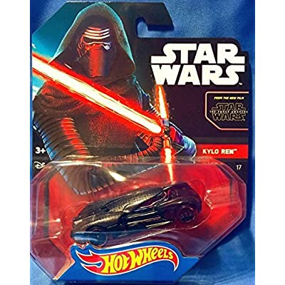 Hot Wheels 2016 1 64 Character Cars Star Wars 17 Kylo Ren from Force Awakens: Toys & Games