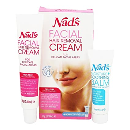 Nads - Crema depilatoria facial - 0.99 ...