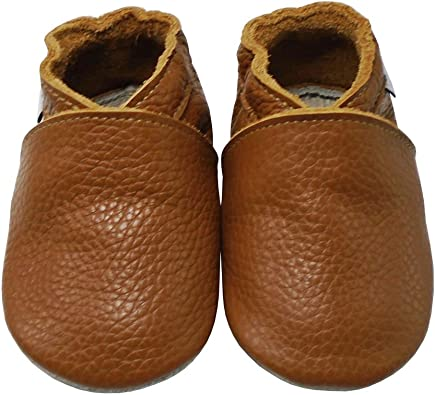 Soft Sole Leather Moccasins Pre-Walkers