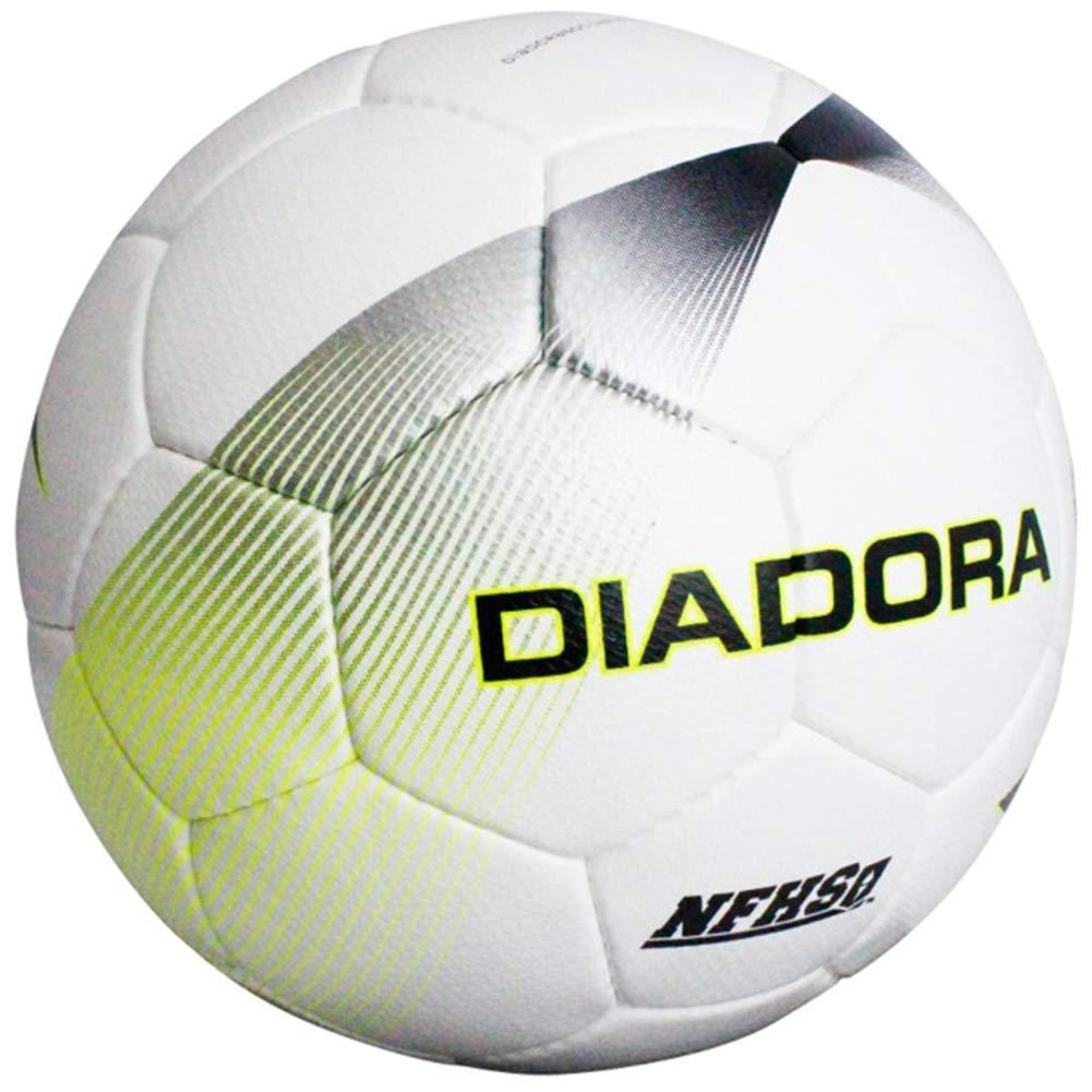 Diadora - Balón de fútbol Ostro, Color Blanco, Lima y Violeta ...
