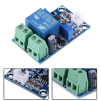 Akozon Relais Modul Undervoltage Protection Board,12V Batterie Niederspannung schnitt automatischen Schalter auf Wiederherstellungs Schutz Modul