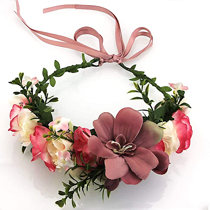 Fiori Bohemien Matrimonio : Codirato corona di fiori archetto ghirlanda copricapo ghirlanda