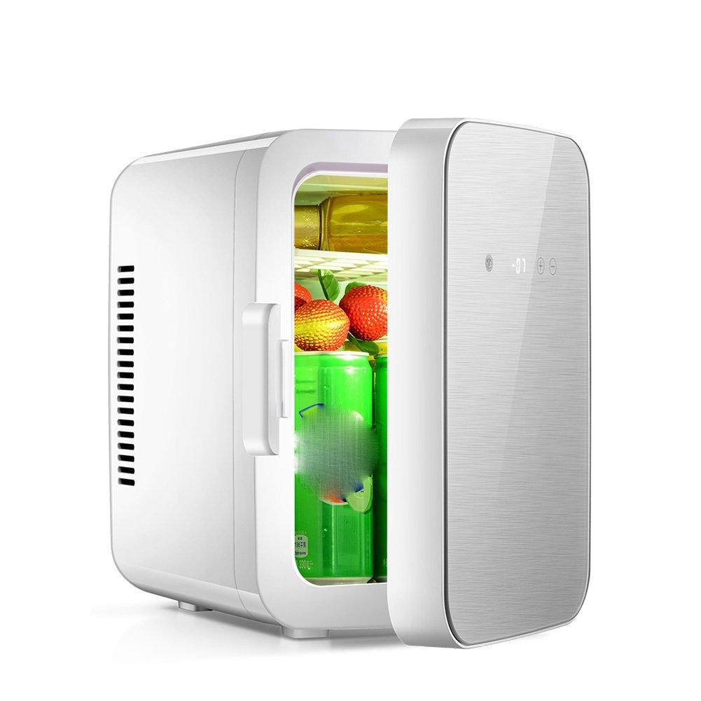 LIQICAI 8L Tragbare Elektrische Kühlbox Auto Zuhause Mini-Kühlschrank Hitze Cool Doppelt Verwenden 12V DC /220V AC (größe : 28x21x31cm)
