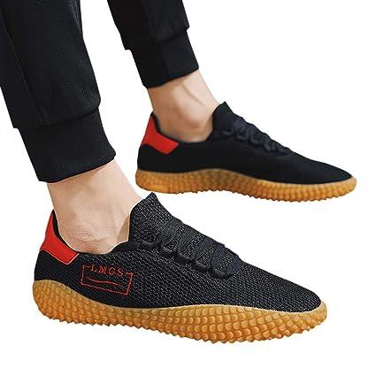 c8eb6da3010e8 Amazon.com: Mosunx Athletic Men's Non-Slip Sports Shoes, Teen Boys ...