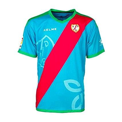 KELME - Rayo Vallecano 3ª Camiseta 18/19 Hombre Color: Celeste Talla: S