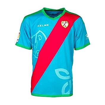 KELME - Rayo Vallecano 3ª Camiseta 18/19 Hombre Color: Celeste Talla: S: Amazon.es: Deportes y aire libre