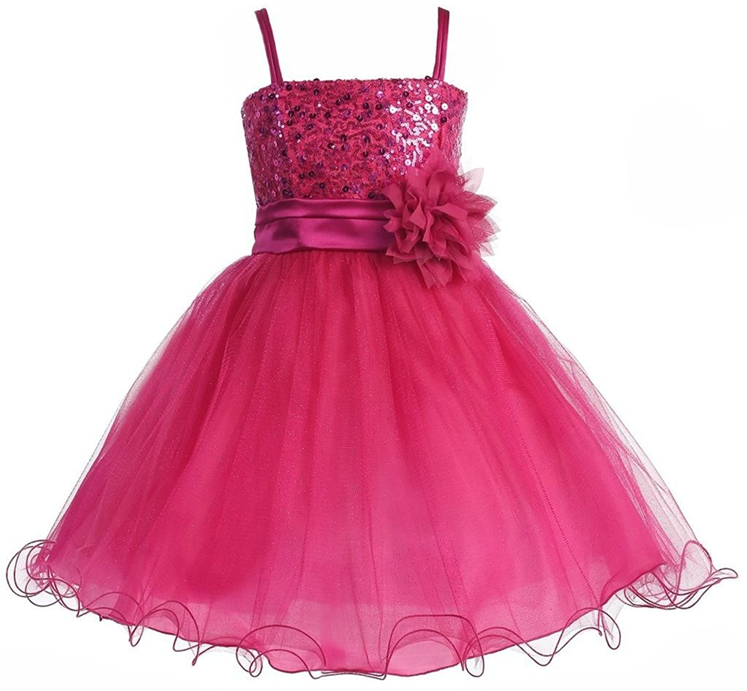 AkiDress Embellishments Flower Girl Dress