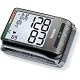 Beurer BC81 Wrist Blood Pressure Monitor, Adjust. Large Cuff | Automatic & Digital, 2x60 Reading Memory, XL Display…