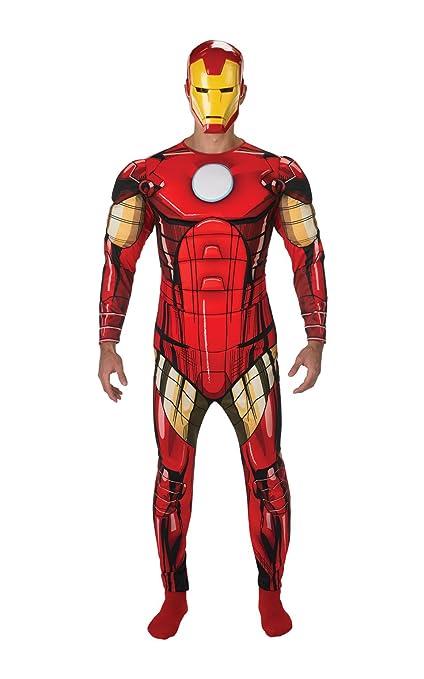 Rubies 887533 Disfraz Oficial de Marvel Iron Man, Adultos, tamaño estándar