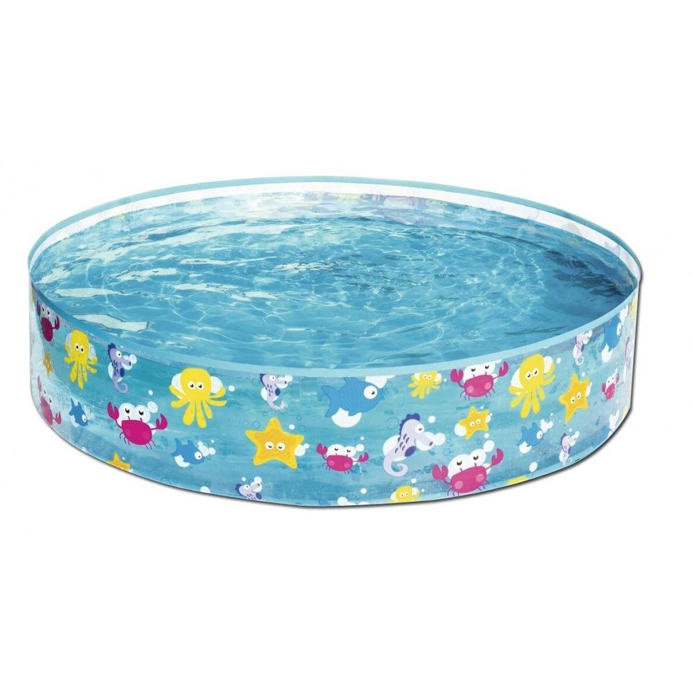 Taylor Toy Snapset Swimming Pool for Kids | Toddler and Baby Pool | 47'' Diameter x 10'' Depth, 59 Gallon Kiddie Pool (Rigid) by Taylor Toy