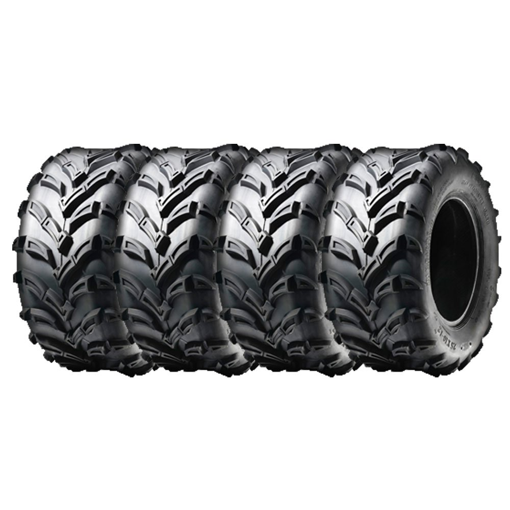 Set of 4 16x8.00-7 ATV UTV ATV Tires New Pack of four tires (205/55-7) | P133 Mud Tread