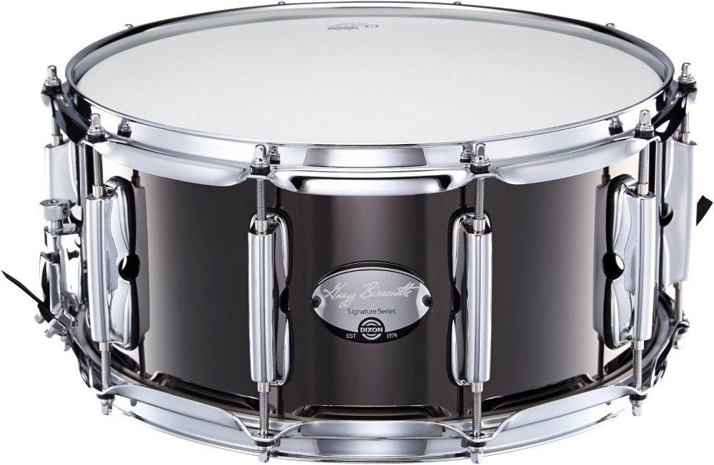Dixon Gregg Bissonette Steel Signature Snare Drum 14 x 6.5 in.
