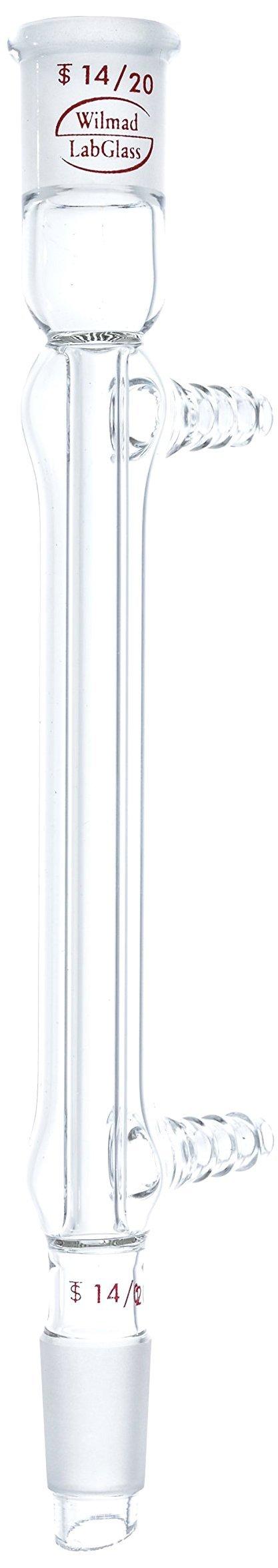 Wilmad-LabGlass ML-590-700 West Condenser, 110mm, Standard Taper 14/20 by SP Scienceware