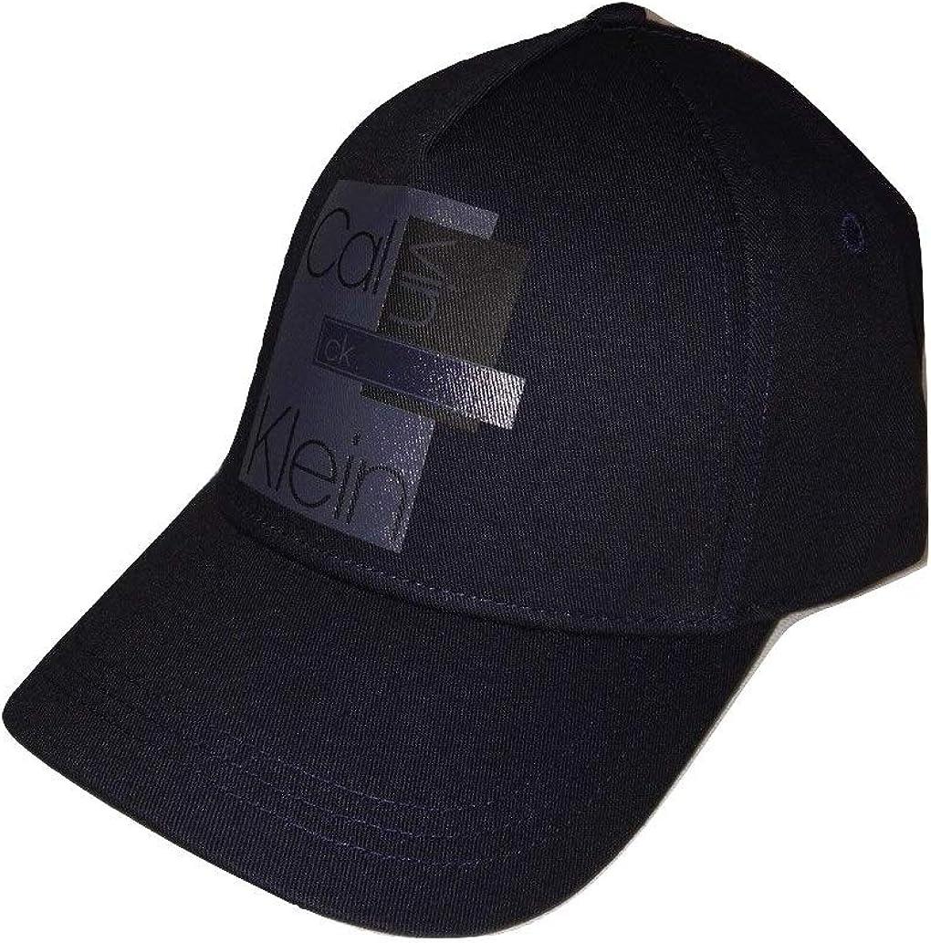 Calvin Klein Layered Logo Cap - Gorra para Hombre Negro Talla ...
