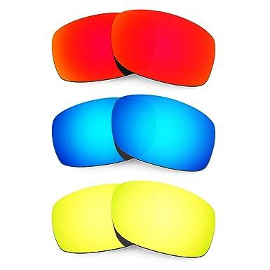 HKUCO Mens Replacement Lenses For mBm4vGvenn Fives 3.0 Sunglasses Red Polarized I8klz