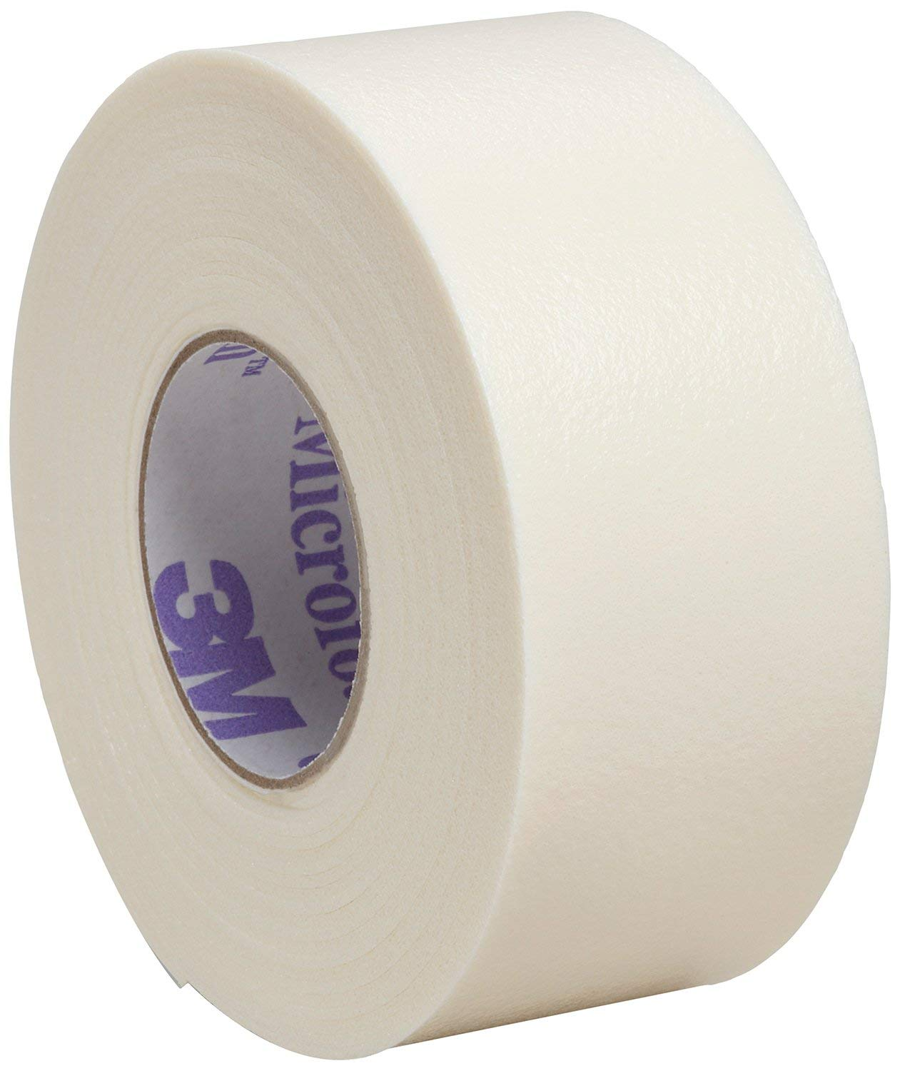 """Direct Collection 3M Microfoam Surgical Tape 1"""" x 5 1/2 yd, Stretched Box of 12"""