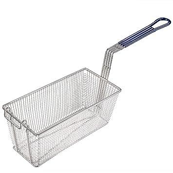1pc acero inoxidable cesta de la freidora comercial restaurante ...