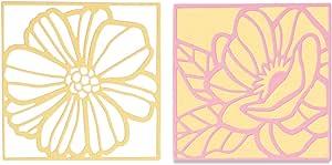 1370 Papier Peint Fleur Rose Diamant élan Fioritures Bandes Liwwing No
