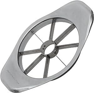 Johnny Apple Stainless Steel Slicer, 8 Wedges, Silver
