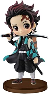 UK SELLER Kimetsu no Yaiba Demon Slayer hook figure chibi box Tanjiro Japan NEW