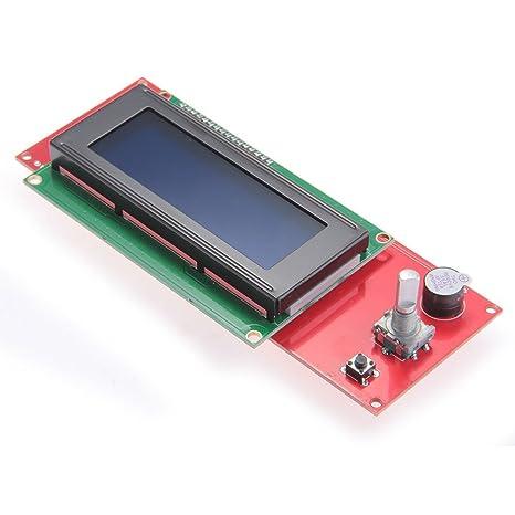 SODIAL (R) LCD pantalla 2004 Controlador Smart RepRap Rampas V1.4 ...