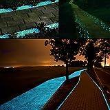Middletone 100 piedras luminosas piedras fluorescente, se usan para el camino del jardín y la…