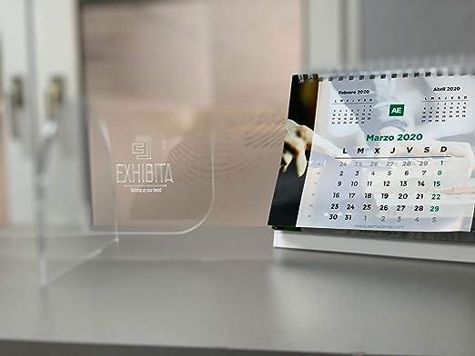 Mampara Premium Policarbonato de 5mm 100x90cm para farmacias, oficinas y Comercio en General. Vinilo Suelo Distancia de Seguridad Gratis: Amazon.es: Bricolaje y herramientas