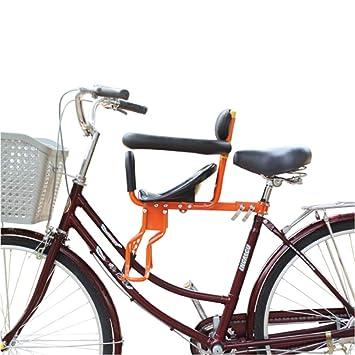 YXZN Asiento De Niño para Bicicleta Asientos De Bebé Delanteros ...