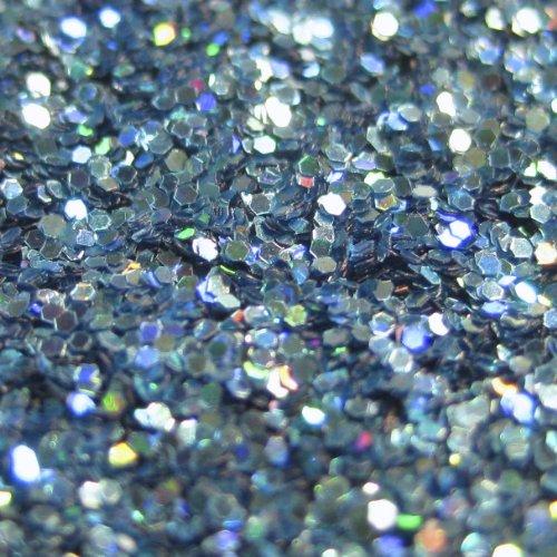 "Holographic Metal Flake ""Ice Bath, Size 0.015"" 6oz Jar - Custom Paint Additives"