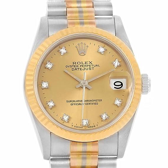 Rolex 68279 - Reloj automático para mujer (certificado de autenticidad)