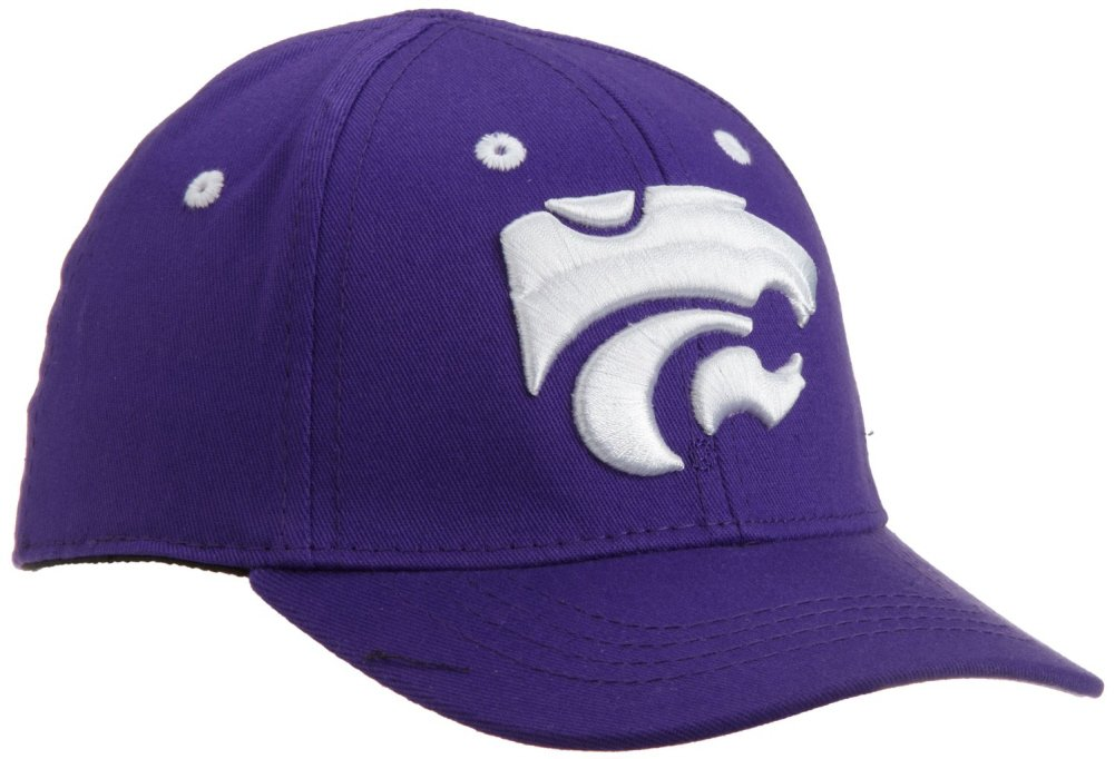 3d66ef36 Amazon.com : Licensed NCAA Kansas State Wildcats Infant/Toddler One-Fit  Baseball Hat/Cap (THE CUB) 4