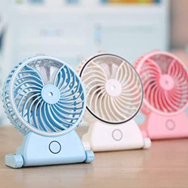 USB Gadgets Mini Handheld USB atomizing Fan with Personal Cooling ...