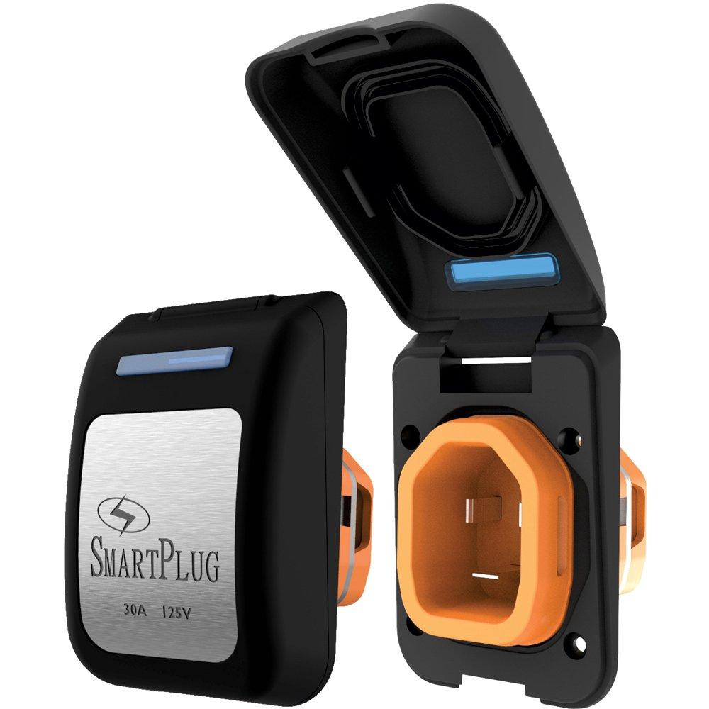 SmartPlug Plastic Inlet Connector, Black